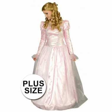 Big size prinsessen verkleedkleding