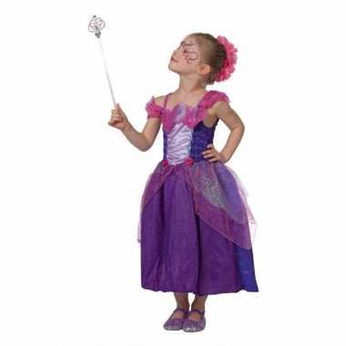 Meisjes sprookjes prinses kostuum