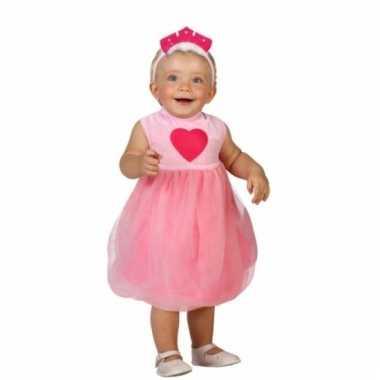 Prinsessenjurk met tule rok voor babys