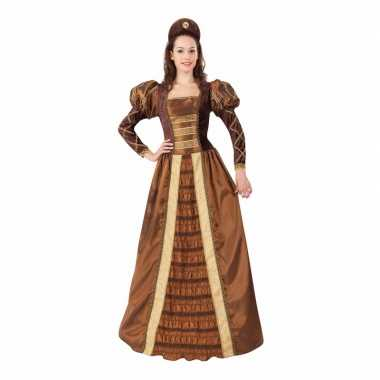 Romeo en juliet prinses/jonkvrouw kostuum voor dames