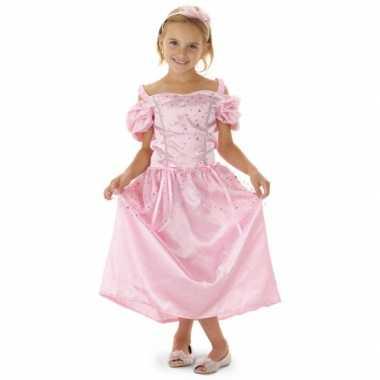 Roze sprookjes prinsessen jurk voor meisjes