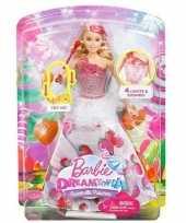 Barbie sweetville prinses met licht en geluid
